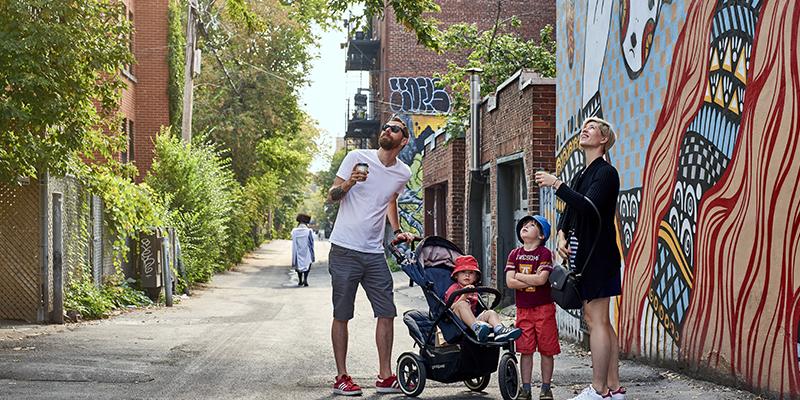 arte urbano en Montreal
