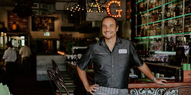 El chef Julien Gremau, un impulsor de la gastronomía de The Palm Beaches