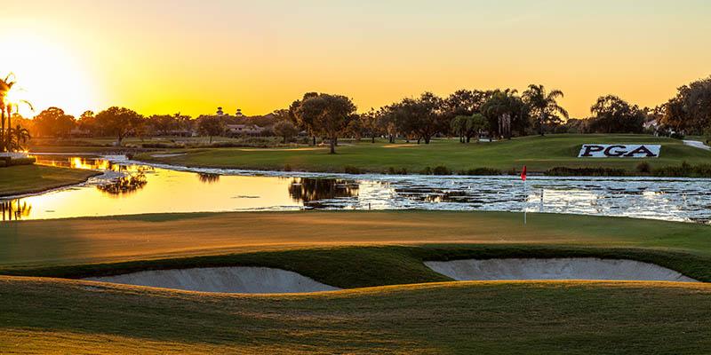 The Palm Beaches es conocida como la capital del golf en Florida