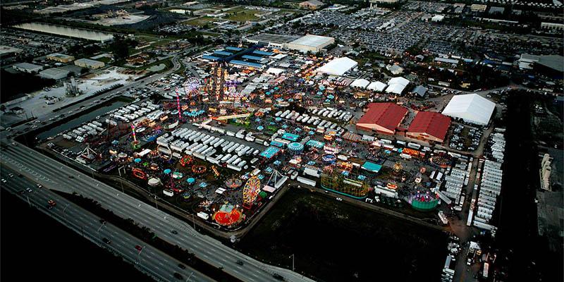 Instalaciones de la Feria del Sur de la Florida