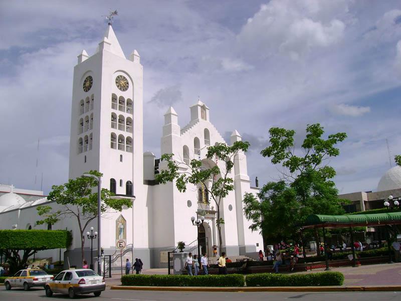 La catedral de San Marcos en la capital