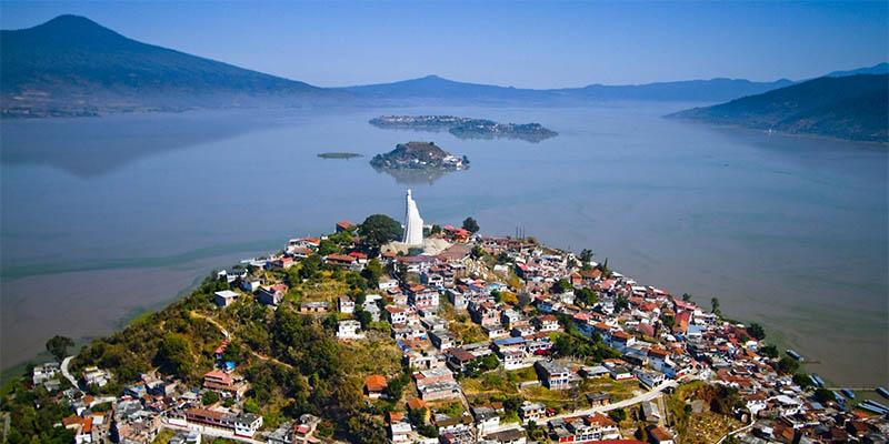 Aquí tomarás increíbles fotos de las islas de Pátzcuaro