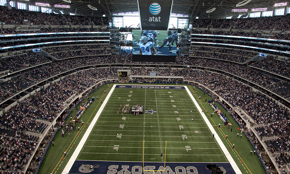 Partido de los Dallas Cowboys
