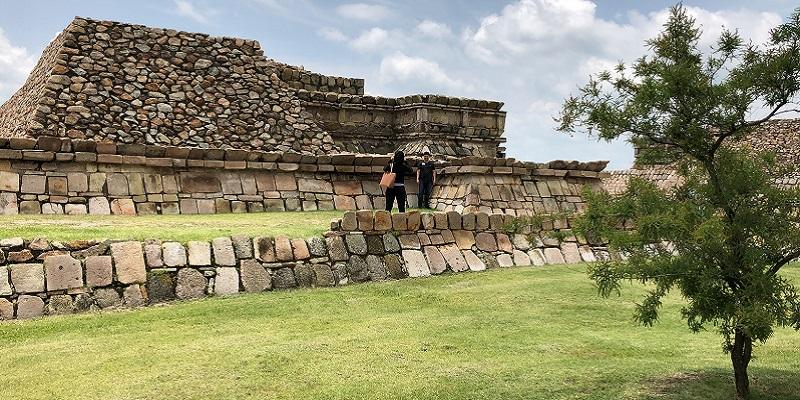 plazuelas, zona arqueológica