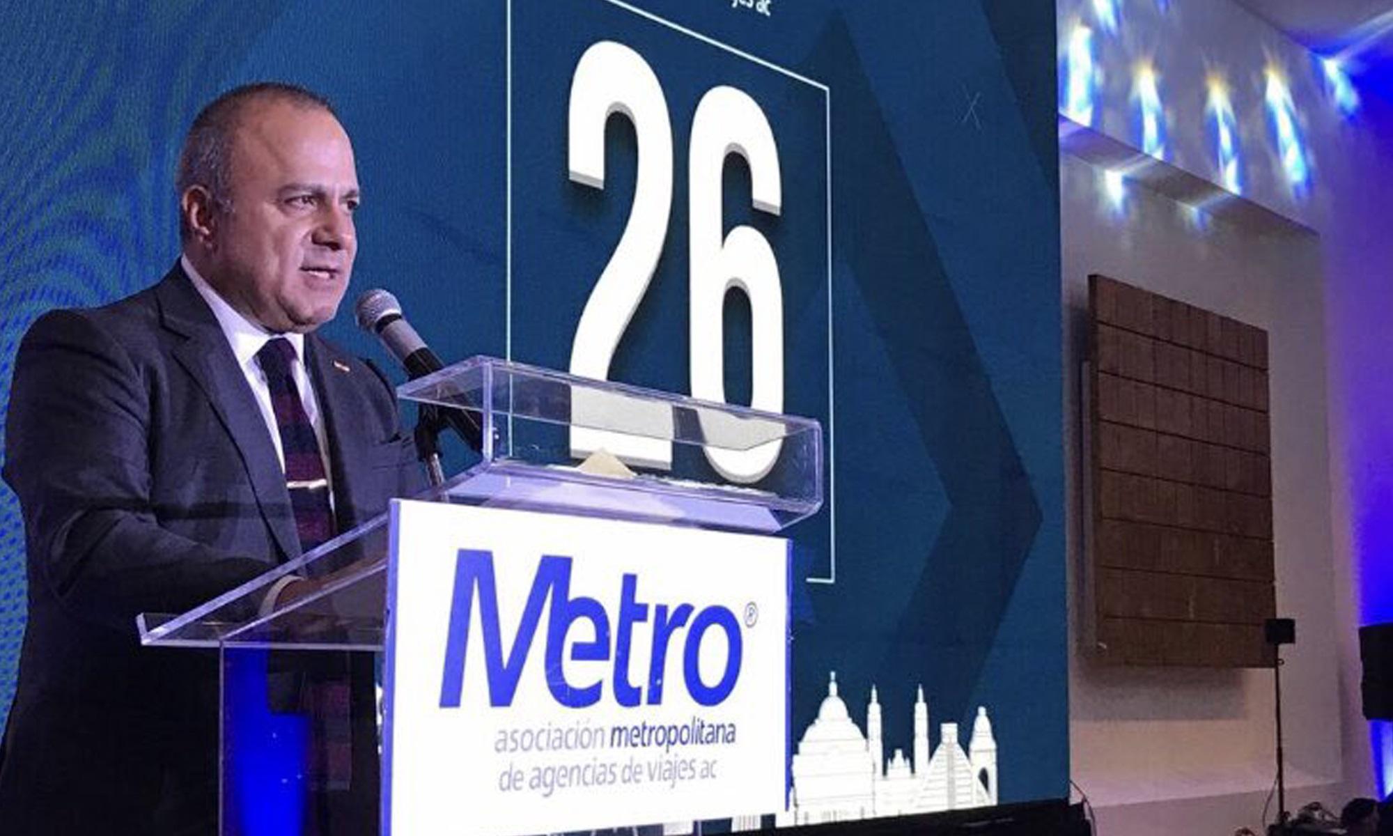 La Asociación Metropolitana de Agencias de Viajes