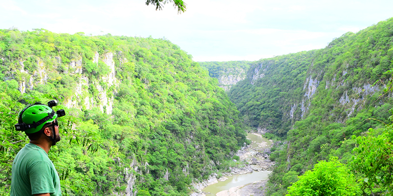 Bellos paisajes en el Cañón de la Servilleta