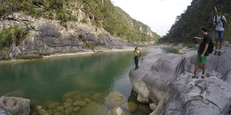 Ecoturismo en el Cañón de la Servilleta