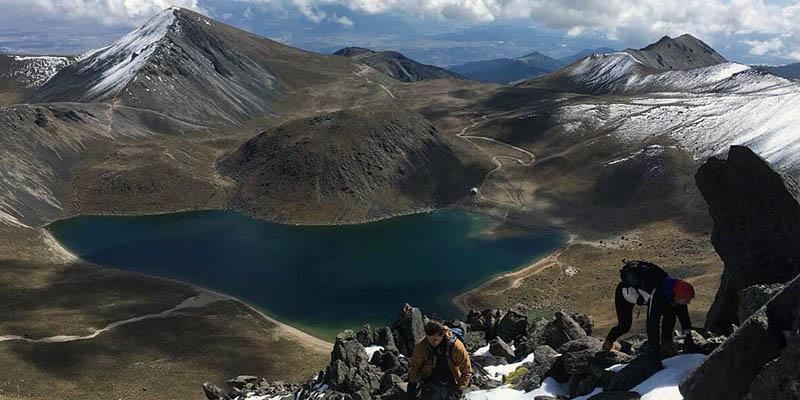 Interior del Nevado de Toluca