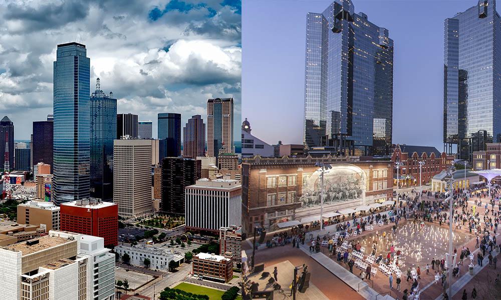 Fort Worth vs. Dallas