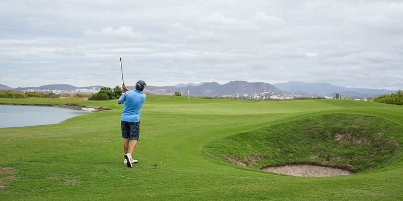 Paraísos para amantes del golf en La Paz