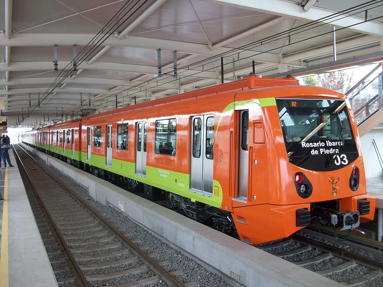Línea del metro exterior
