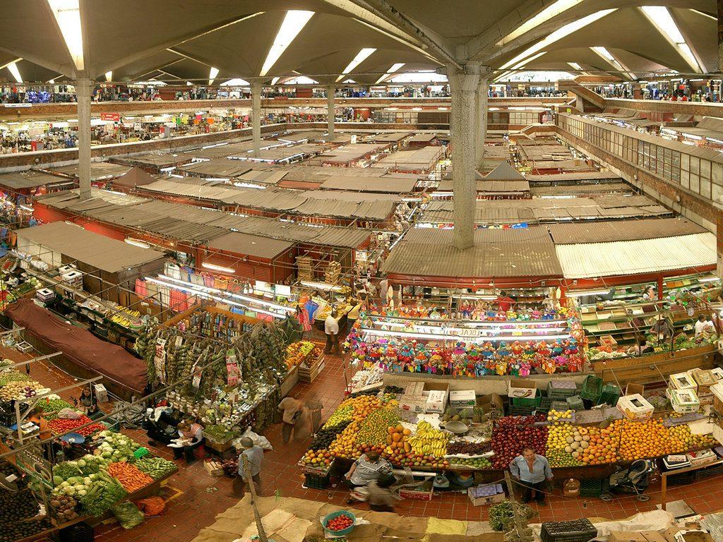 Área de frutas y verduras