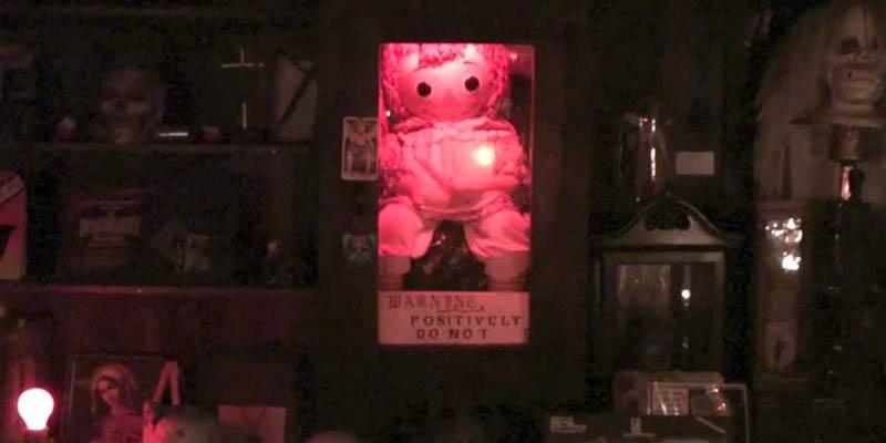 La muñeca Annabelle - Museos de los Warren