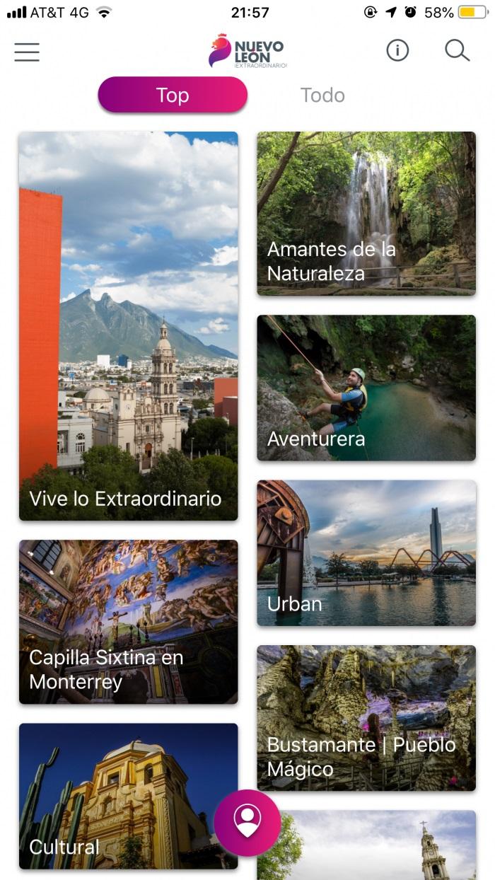 Pasaporte Nuevo León Extraordinario.