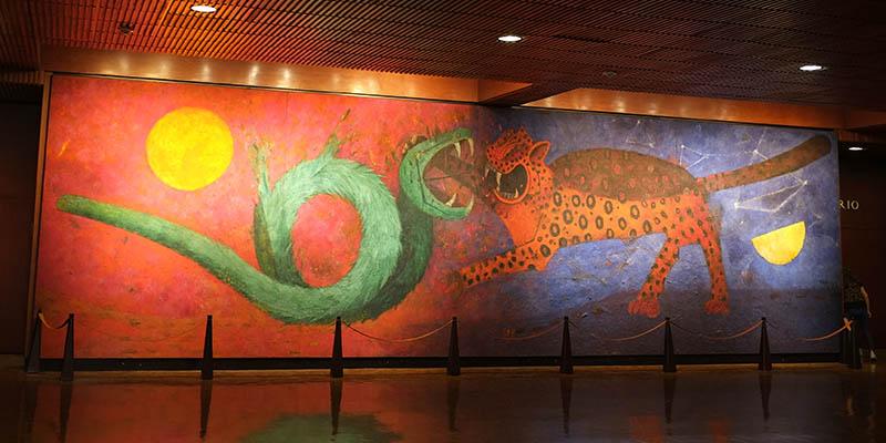 Aunque era uno de los pintores mexicanos del movimiento muralista, se distanció