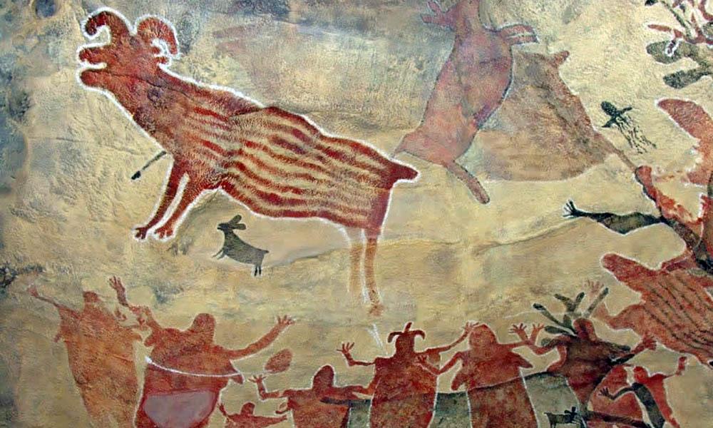 Impresionantes imágenes en las pinturas rupestres de Baja California Sur