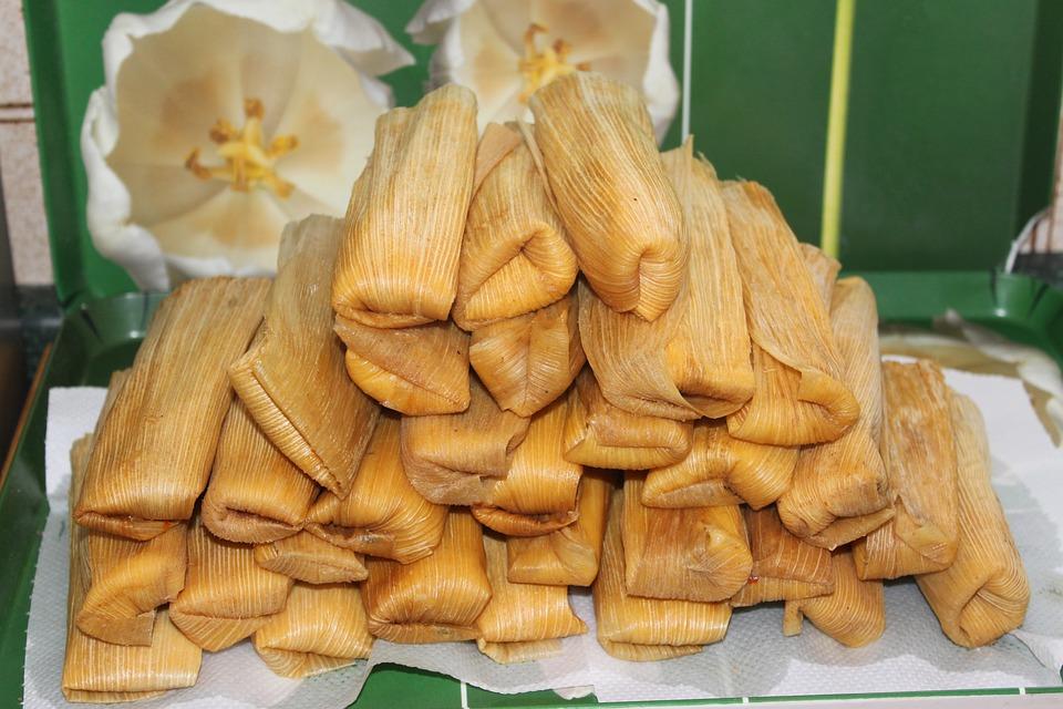 Tamales de frijol