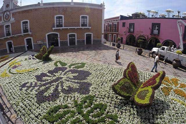 Tapetes de Atlixco Puebla