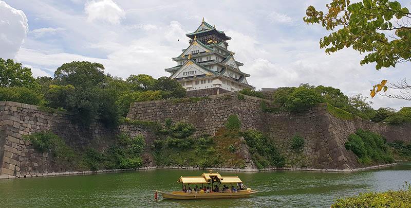 Uno de los increíbles lugares que ver en Osaka