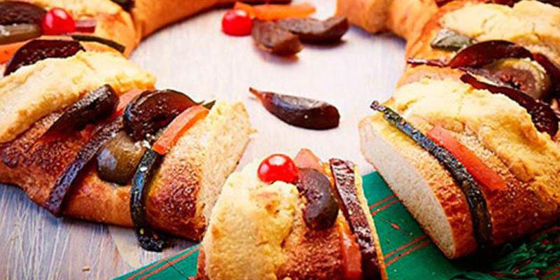 Para comenzar el año con una deliciosa rosca de Reyes