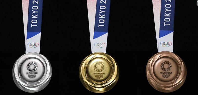 Las medallas de los próximos Juegos Olímpicos