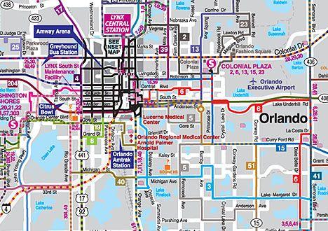 mapa transporte