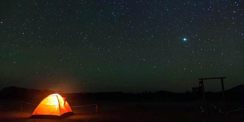 Más que ovnis, te vas sorprender por el cielo estrellado