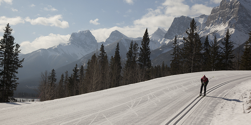 Alberta en invierno – Canmore Nordic Center