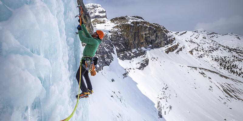 Escalada en hielo Alberta