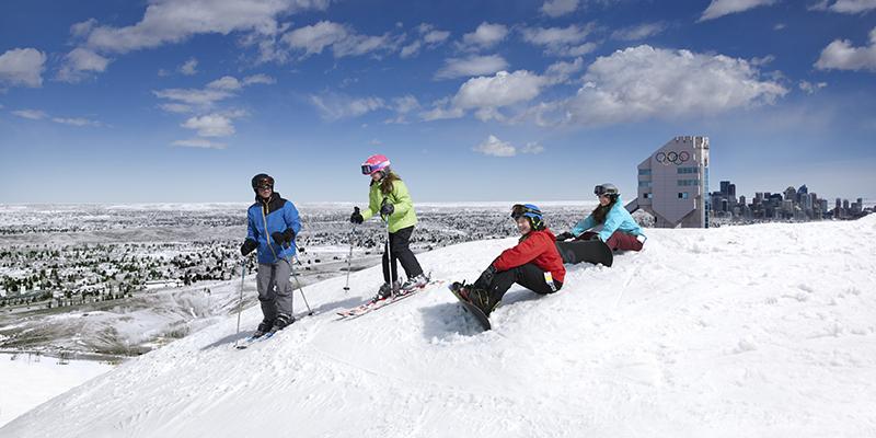 Alberta en invierno – Tourism Calgary – CAOP