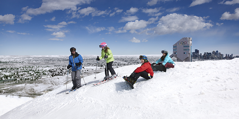 CAOP Alberta en invierno – Tourism Calgary