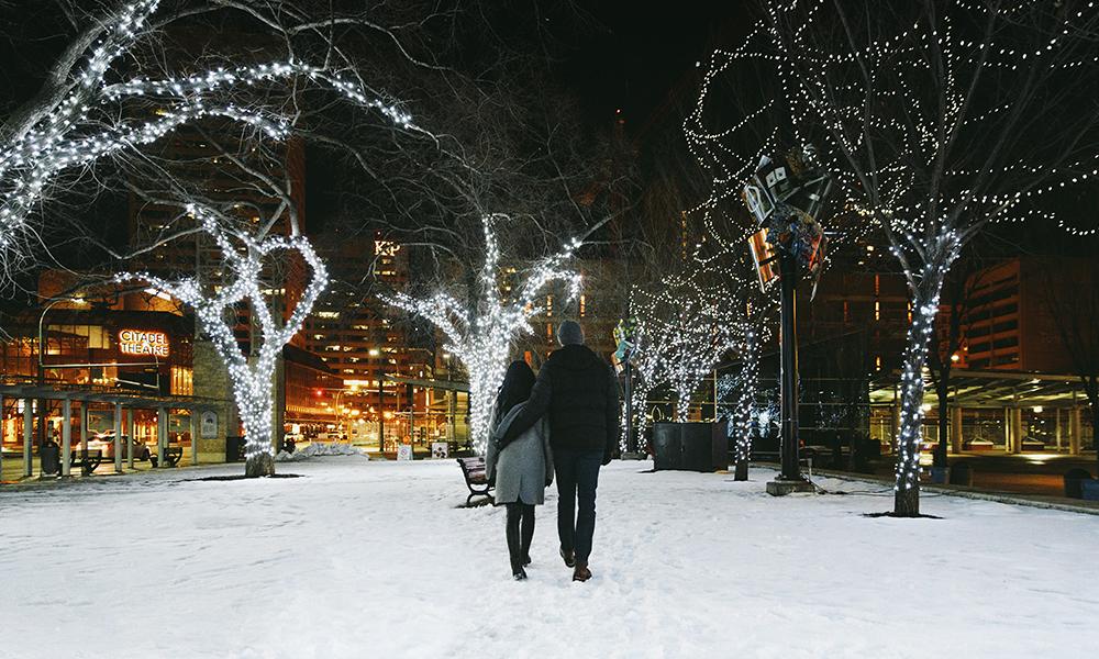 Edmonton en invierno 2