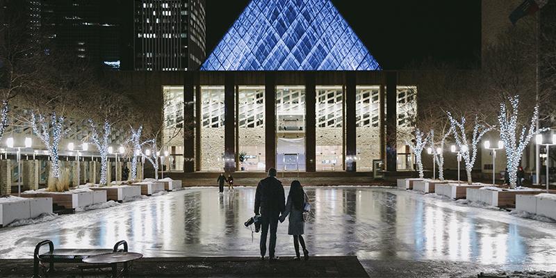 Edmonton en invierno