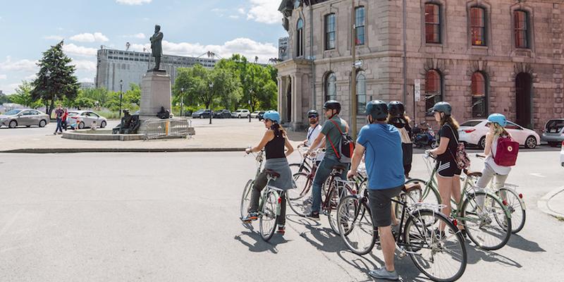 Tour bicicleta Montreal