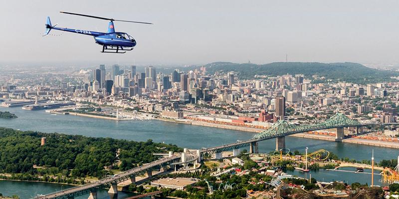 Tours helicóptero Montreal