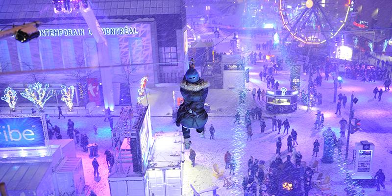 festivales de invierno de Montreal