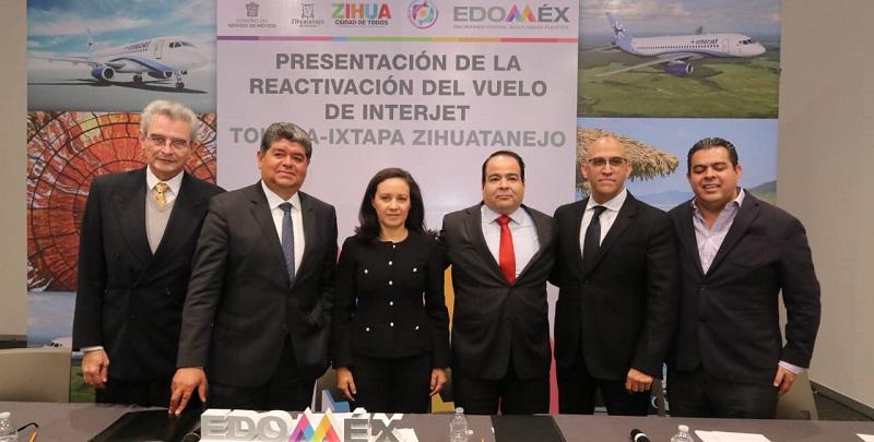 Interjet reactiva la ruta Toluca Ixtapa Zihuatanejo
