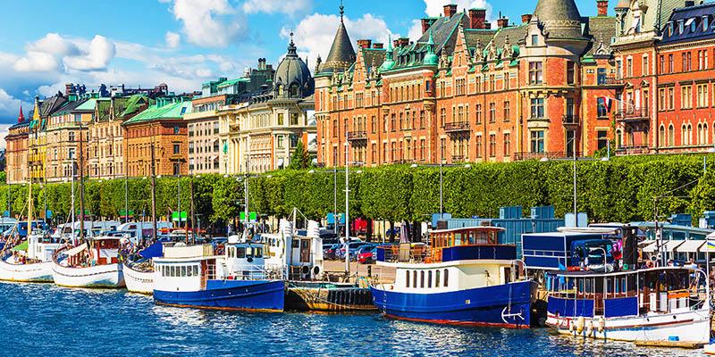 El embarcadero de Estocolmo