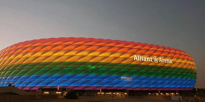 Allianz Arena, casa del Bayern Múnich