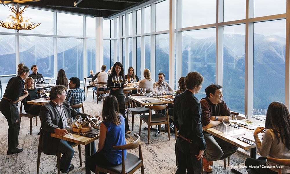 Dónde comer en Banff y Lake Louise