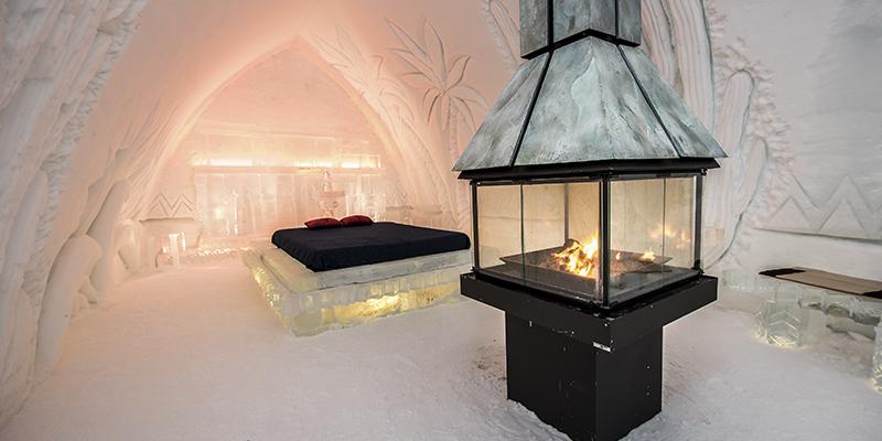 Hotel de hielo Quebec