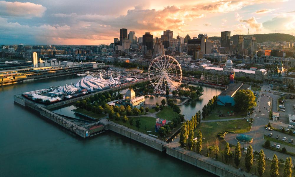Impresionantes vistas de Montreal