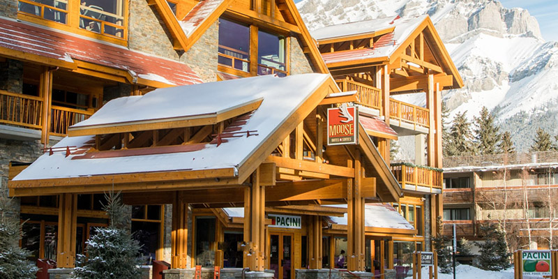 mejores hoteles de Banff