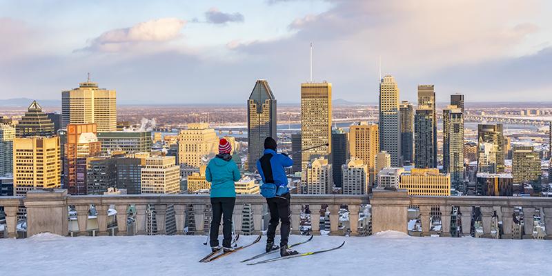 invierno en Montreal