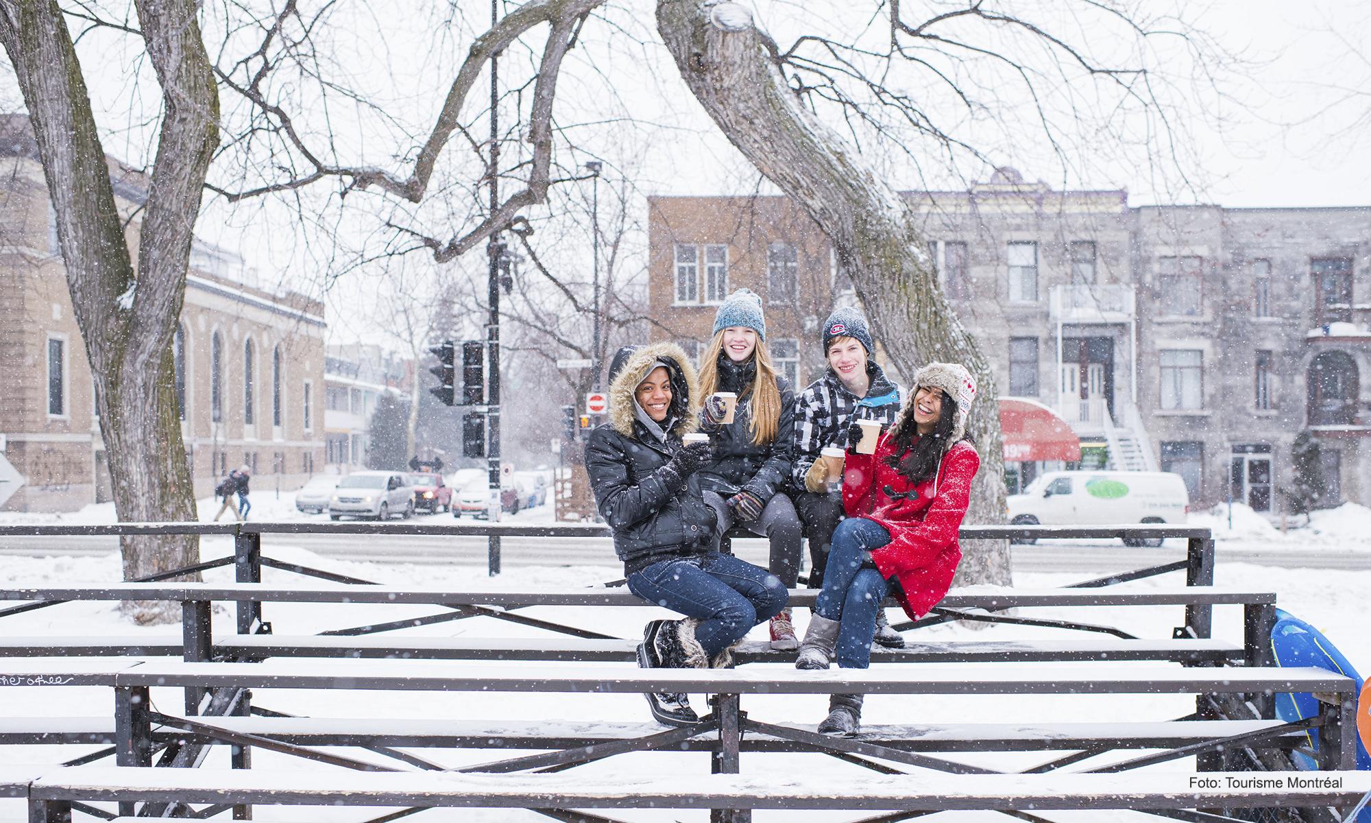 Primera nevada de Montreal