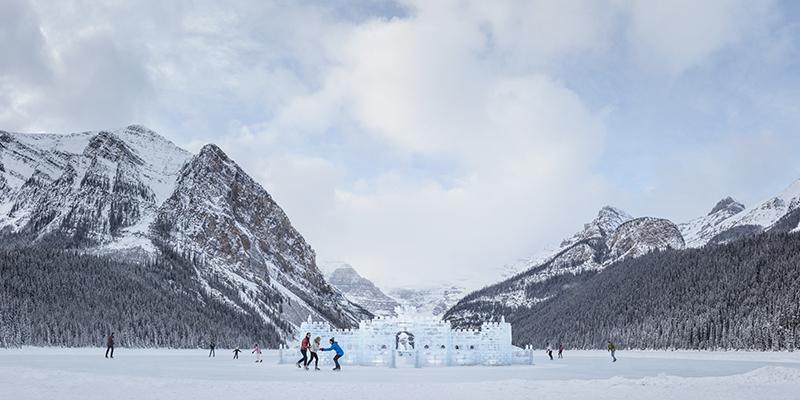 Lake Louise en invierno