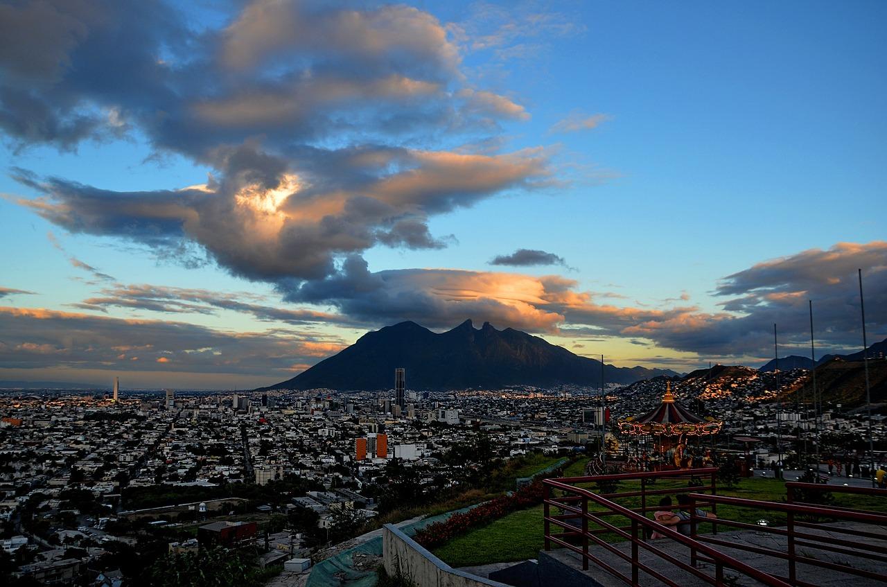 El cerro en Monterrey
