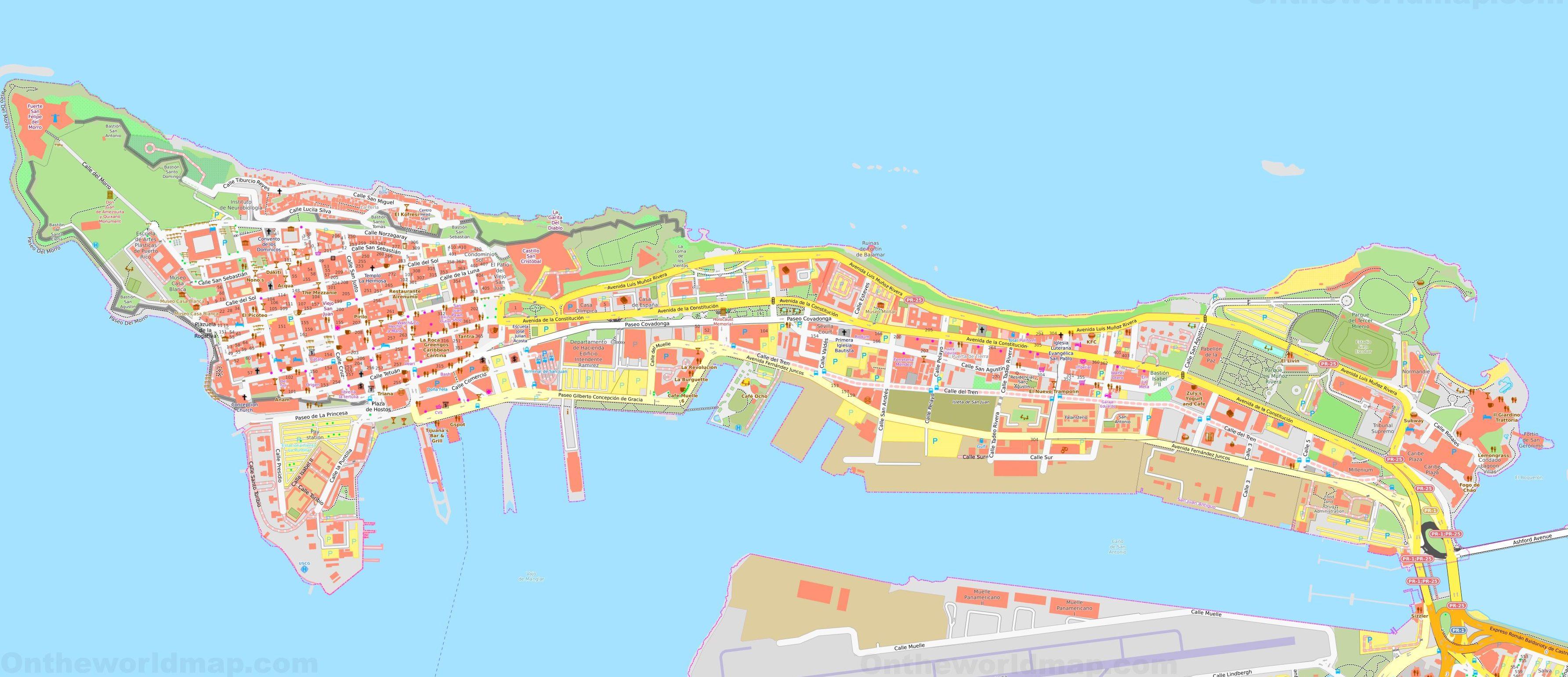 Mapa San Juan