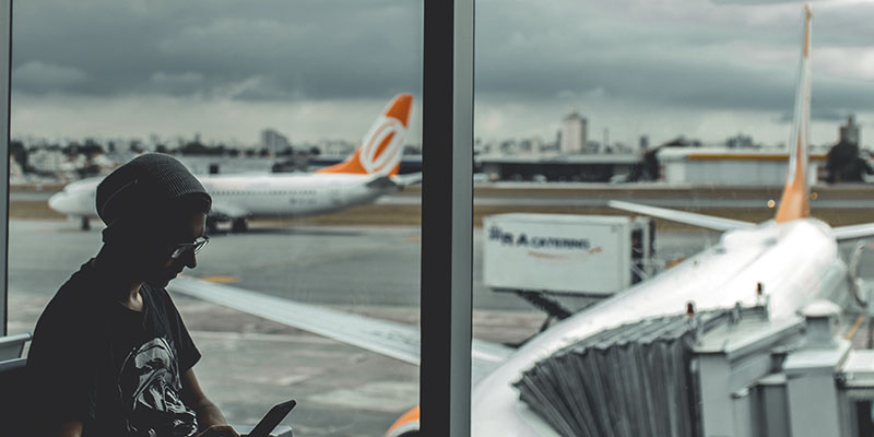 cosas que pasan en un aeropuerto
