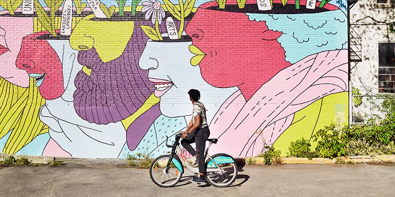 montreal-cultura Sylvie Li _ Tourisme Montréal _ Murale de Nikki Küntzle Festival MURAL 2019